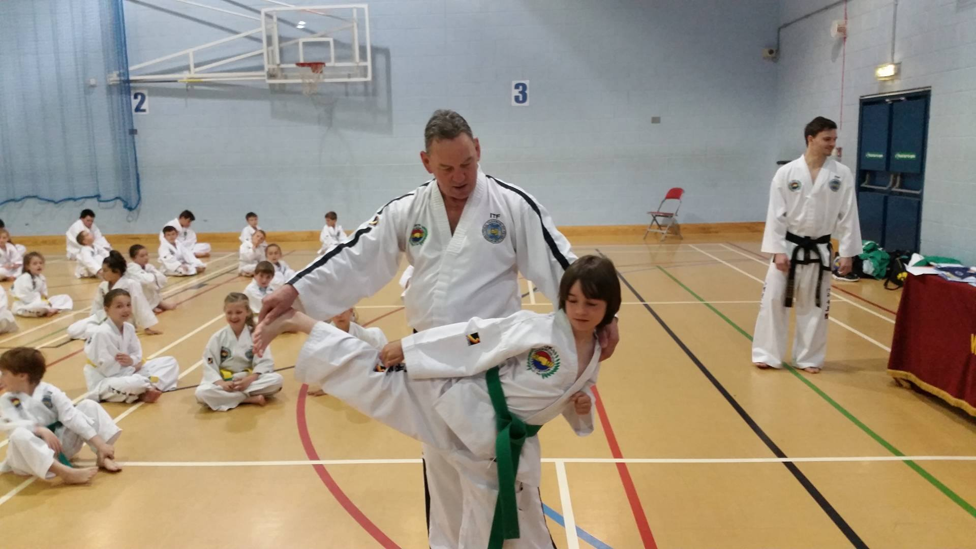 UKTA Side Kick Technique