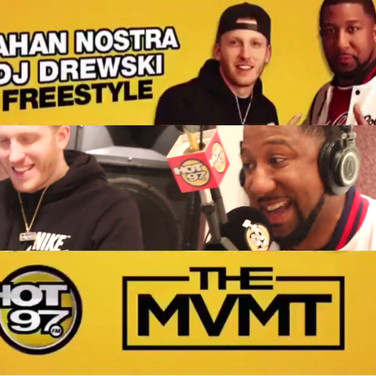 Exclusive: Jahan Nostra Freestyle on Hot 97 with Drewski