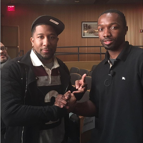 Jahan Nostra & Jamie Hector (The Wire)