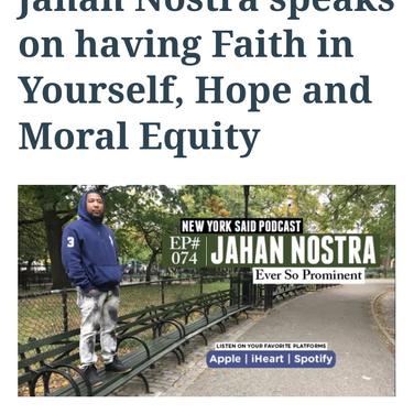 New York Said Interviews Jahan Nostra