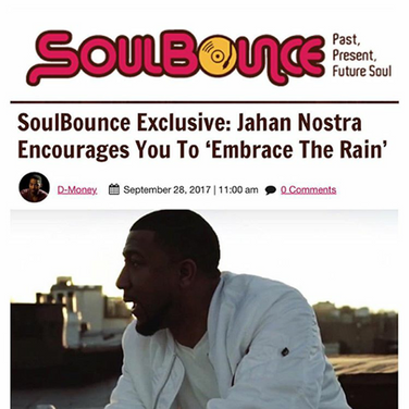 Soulbounce Exclusive: Jahan Nostra Encourages You to 'Embrace The Rain'