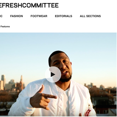 """The Fresh Committee: Jahan Nostra """"Embrace The Rain"""""""