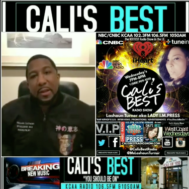 Ms. Lashaun Turner Interviews Jahan Nostra on Cali's Best Radio Show