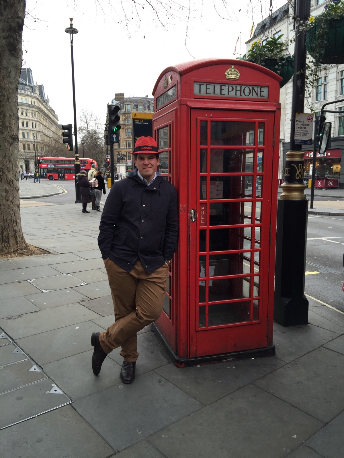 Mitch with Red on Red in London