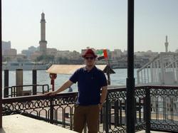 Mitch's hatter shot in Dubai