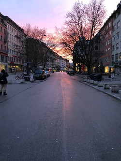 The streets of Munich