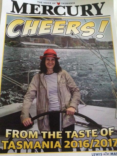 Karen's hatter shot in the paper