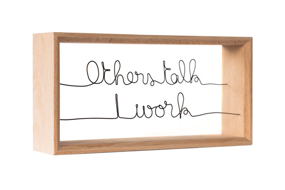 Others talk-Picasso-VH-beech frame-Steel