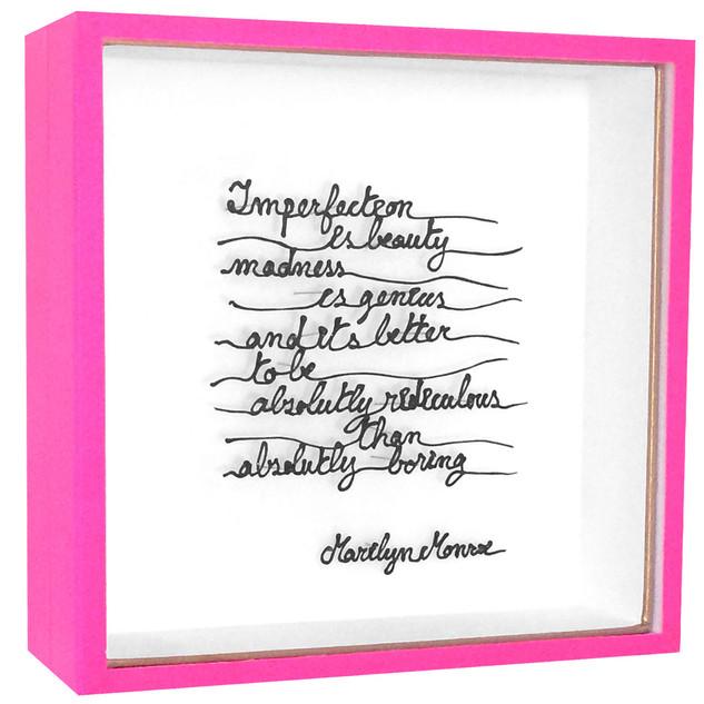 Boîte Marilyn Monroe
