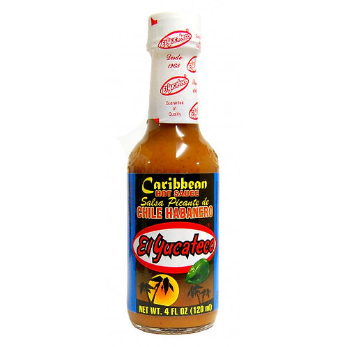 Caribbean Hot Habanero Sauce 120ml