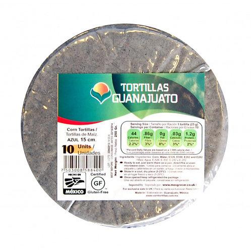 Blue Corn Tortillas 15cm zip lock
