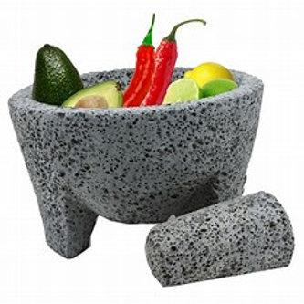 Molcajete(Mortar and Pestle) 21cm 6kg volcanic stones