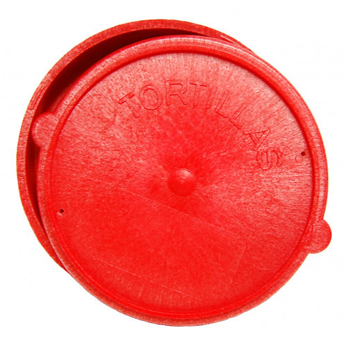 Tortilla Warmer Plastic Red