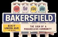 Bakersfield California Sign
