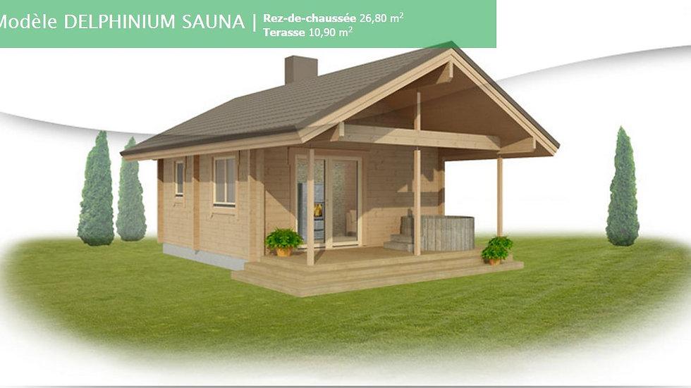Kontio Delphinium Sauna