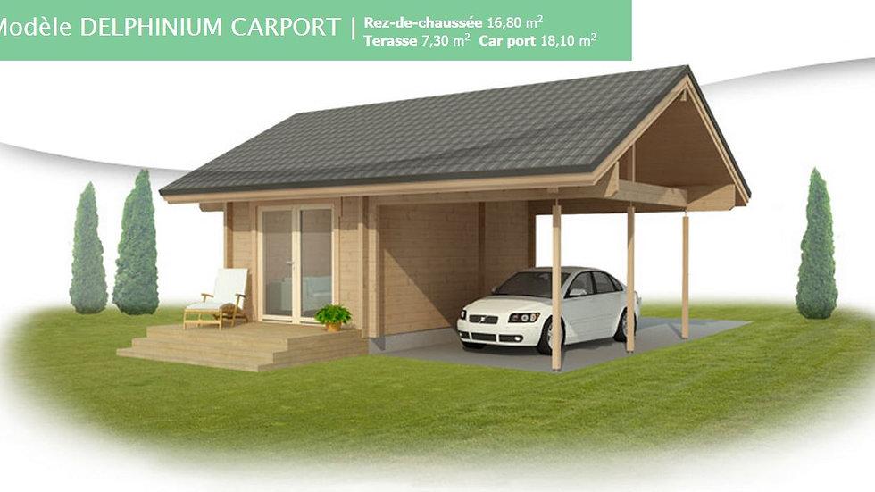 Kontio Delphinium Carport 17