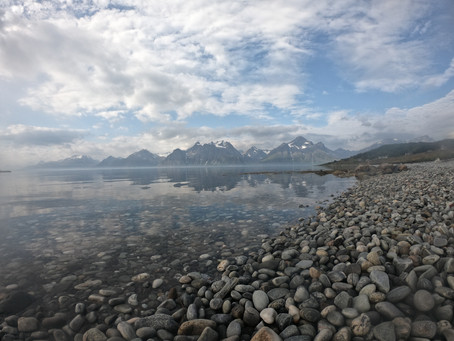 Part 23,The amazing Lyngen alps! Nr1 view on the trip!