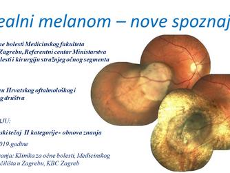 Uvealni melanom - nove spoznaje