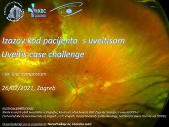 """Izazov kod pacijenta s uveitisom (Uveitis case challenge)""-""on line"" symposium"