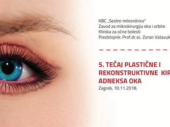 Bazični tečaj iz plastične i rekonstruktivne kirurgije adneksa oka