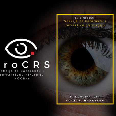 15. simpozij Sekcije za kataraktu i refraktivnu kirurgiju