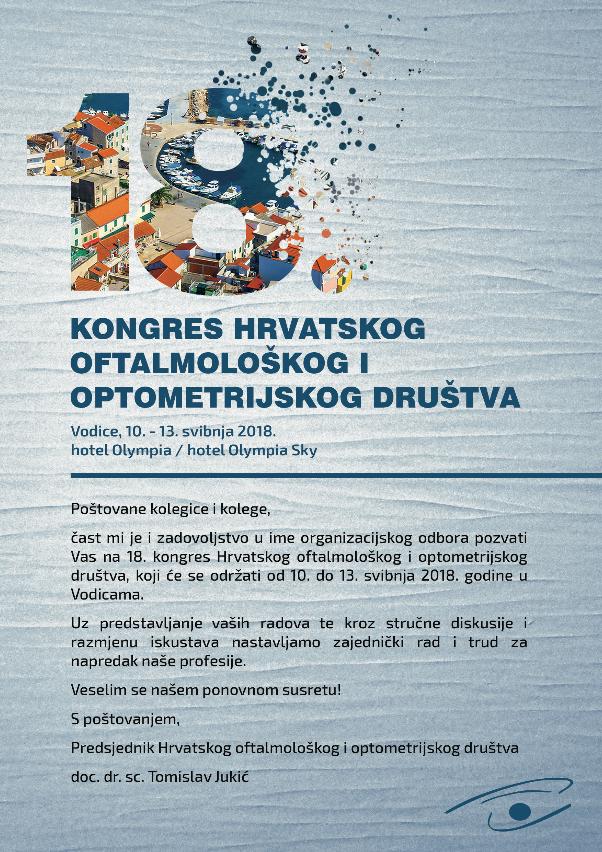 18. Kongres Hrvatskog oftalmološkog i optometrijskog društva