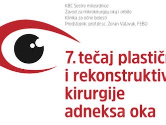 7. tečaj plastične i rekonstruktivne kirurgije adneksa oka
