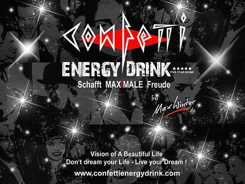 CONFETTI Energy Drink *****