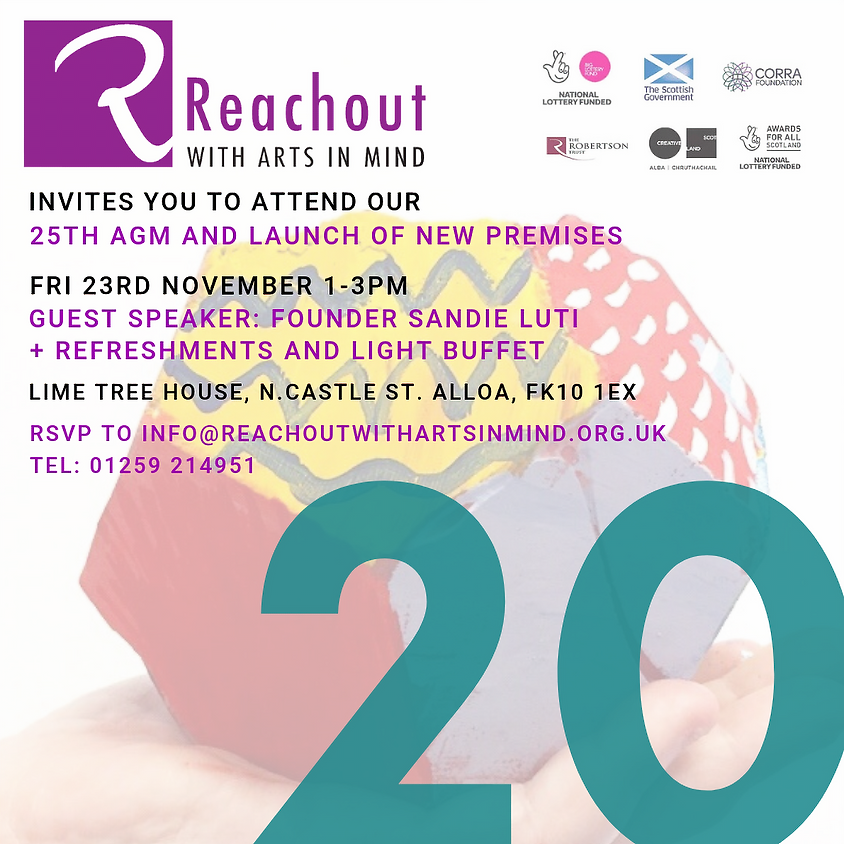 Reachout's 25th AGM and New Studio Launch