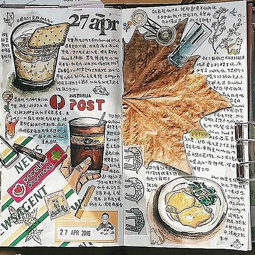 Creative Journal Workshop with Tracy Waddell
