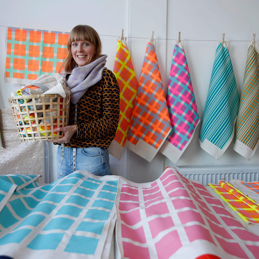 Textile Printing with Laura Spring (2/4)