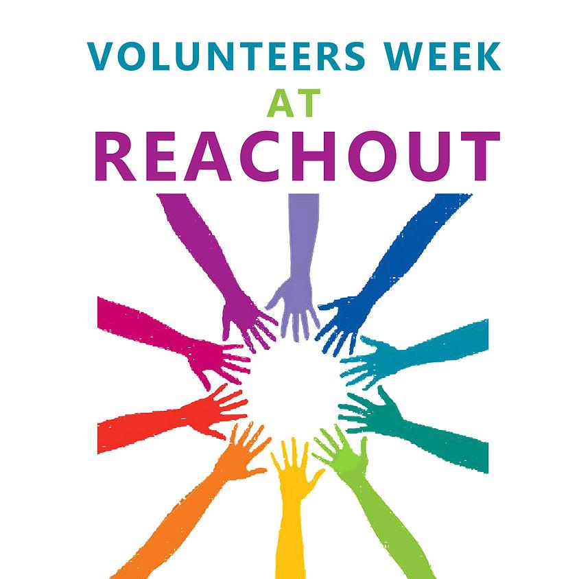 Reachout Needs YOU!   Volunteering Open Day