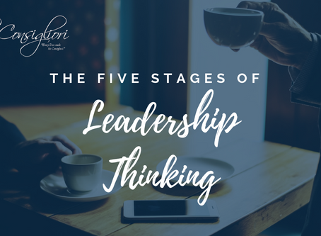 The Five Stages of Leadership Thinking