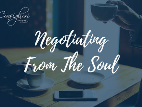 Negotiating From The Soul