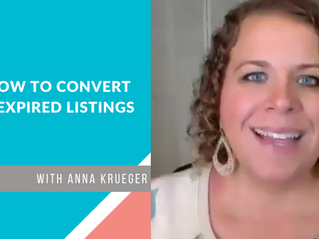How to Convert Expired Listings