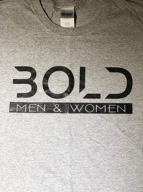 """""""Bold"""" Grey-Black (2XL - 4XL)"""