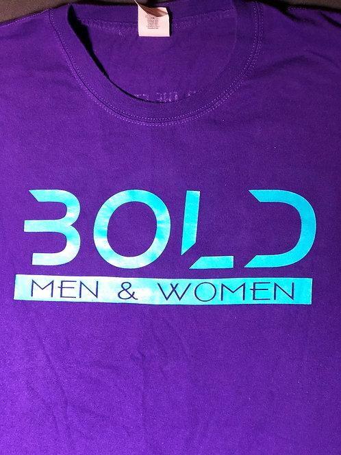 """""""Bold"""" Purple-Teal (2XL -4XL)"""