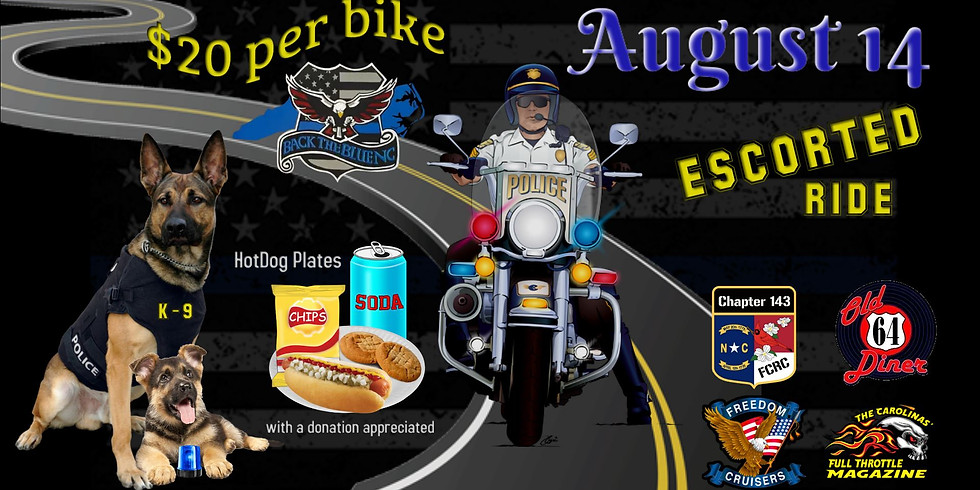 2nd Annual Bikers Behind The Blue