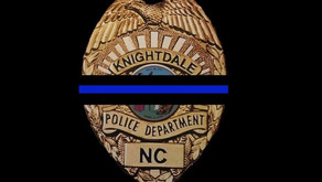 Knightdale PD 3-month veteran killed by suspected drunk driver