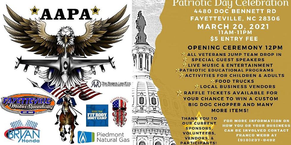 The All American Patriots Association Patriotic Day Celebration