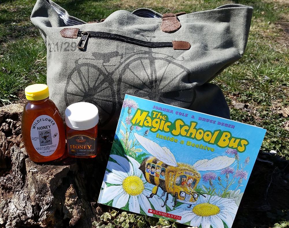 La Bee da Loca Bag, Book, and HONEY!