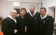 CHRISTIAN MIRÓ, AGUSTIN LEAL Y CARLOS SERRATE.