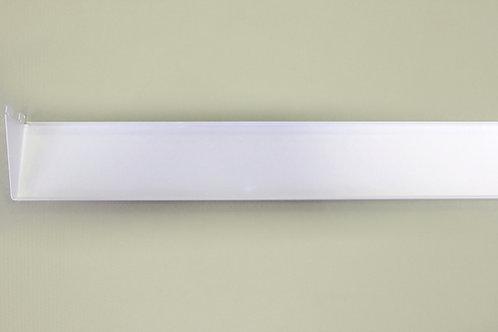 Полка-лоток 900х110 мм, белая