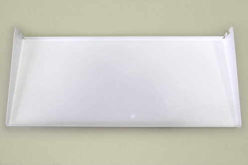 Полка-лоток 450х260 мм, белая