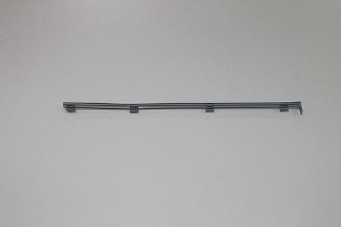 Декор. заглушка для кронштейна 30 см, центральная, платина
