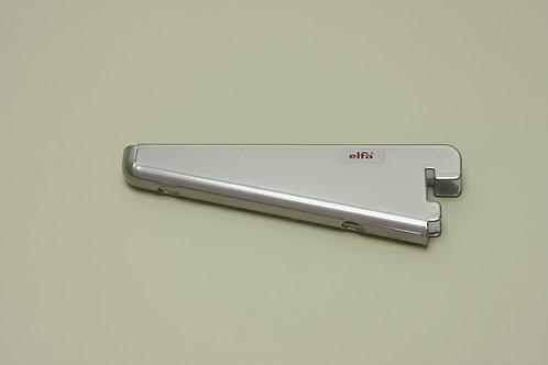 Кронштейн для меламиновой полки 120 мм, платина