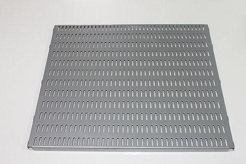 Перфорированная панель 450х382 мм, платина