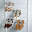Thumbnail: Полка для обуви одинарная 605 мм, белая