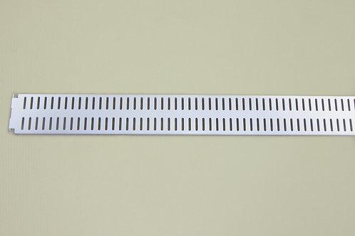 Перфорированная панель 900х62 мм, белая