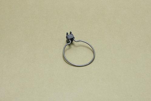 Круглый держатель 114 мм, серый